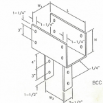 BCC Column cap