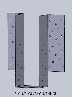 High capacity girder hangers